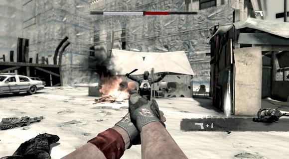 screenshot I Am Alive pistol