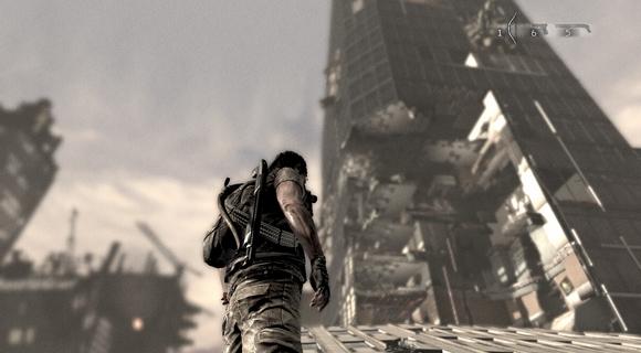 screenshot I Am Alive skyscraper