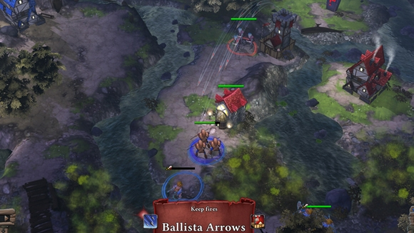 screenshot highborn pc indie ballista