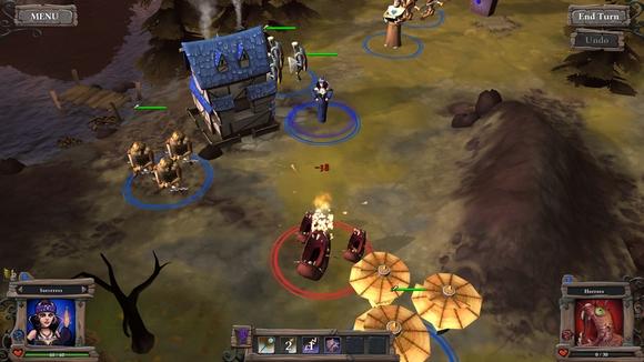 screenshot highborn pc indie battle slugs