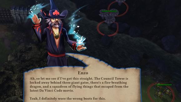 screenshot highborn pc indie wizard dialog