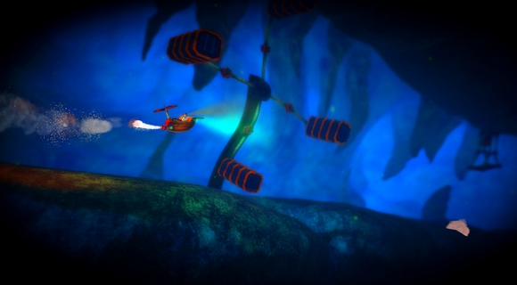 screenshot spate pc indie platformer art airship