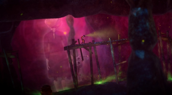 screenshot spate pc indie platformer art cave