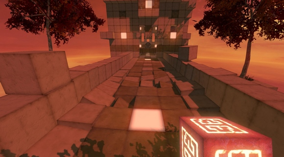 qbeh-1 the atlas cube indie puzzler screenshot bridge