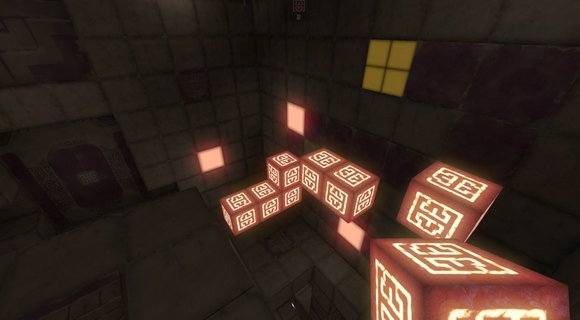 qbeh-1 the atlas cube indie puzzler screenshot stairs