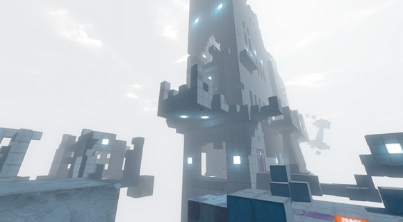 qbeh-1 the atlas cube indie puzzler screenshot tower
