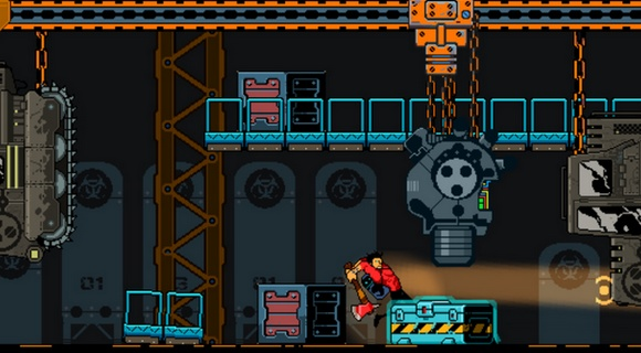 bad bots indie pc screenshot axe