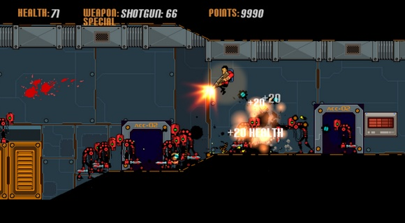 bad bots indie pc screenshot horde