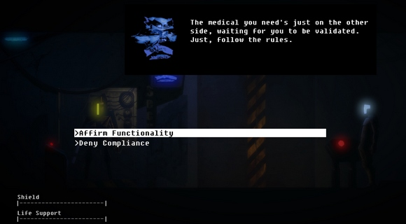 the fall episode 1 indie pc wii u screenshot dialog