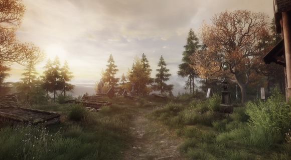 screenshot the vanishing of ethan carter indie the astronauts friedhof