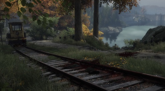 screenshot the vanishing of ethan carter indie the astronauts schienen