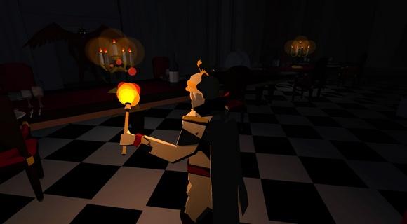 screenshot malbolgia indie Jochen Mistiaen dining room