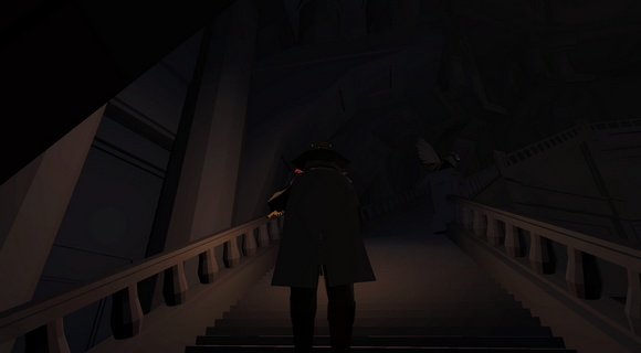 screenshot malbolgia indie Jochen Mistiaen stairs
