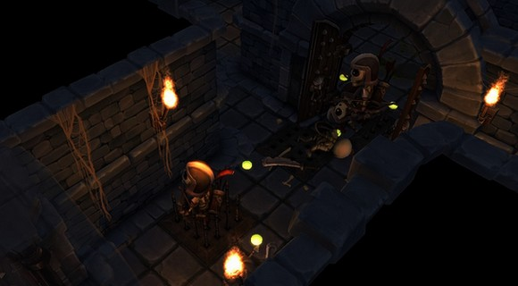 screenshot tinykeep phi games rogue-like fallen