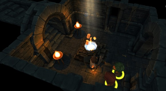screenshot tinykeep phi games rogue-like opferung