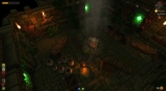 screenshot tinykeep phi games rogue-like schatztruhe