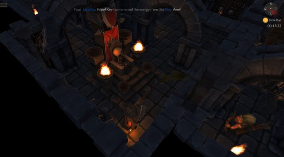 screenshot tinykeep phi games rogue-like thron