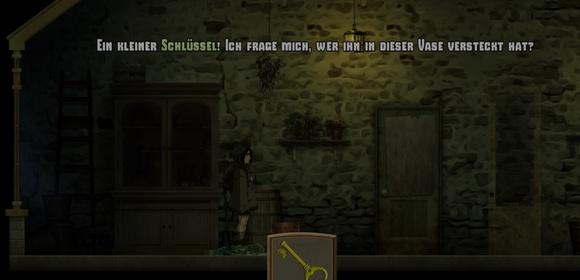 screenshot whispering willows pc ouya horror adventure schlüssel gewächshaus