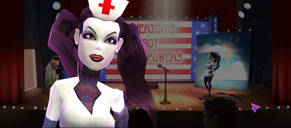 screenshot supreme league of patriots ep1 nurse