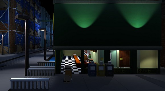 screenshot hot tin roof diner
