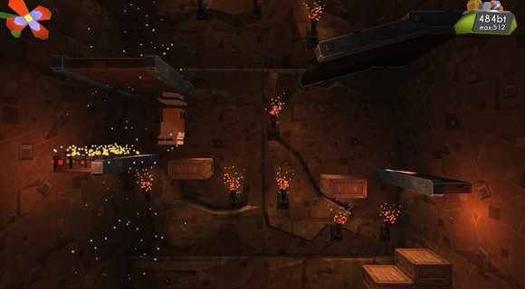 screenshot hot tin roof platforming mine