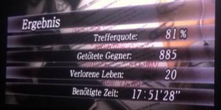 Resident Evil 4 ending stats