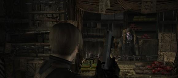 screenshot resident evil 4 trader