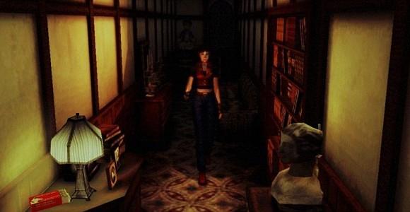 screenshot resident evil code veronica hallway