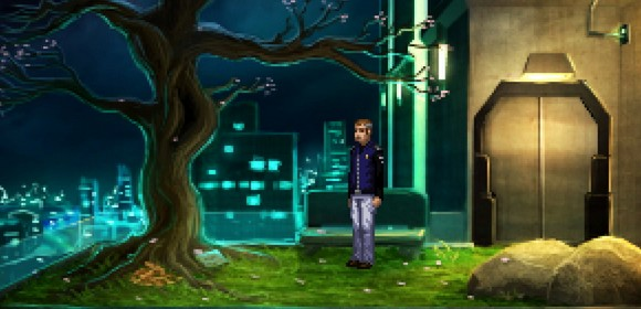 screenshot technobabylon wadjeteye technocrat adventure tree