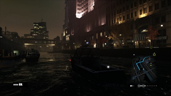 screenshot watch dogs boat