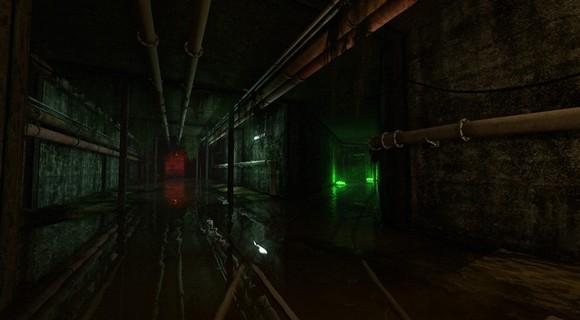 infra loiste interactive screenshot tunnel wasser