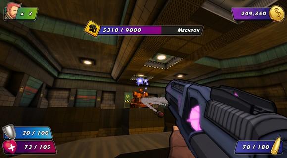 screenshot wrack final boss mechron