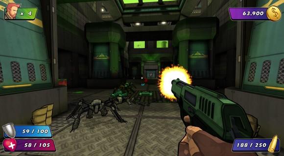 screenshot wrack final boss pistole