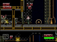 alien 3 mega drive screenshot