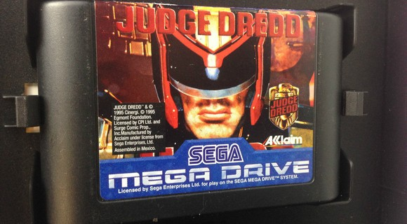 probe judge dredd mega drive modul