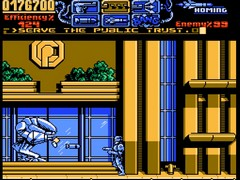 probe robocop 3 nes screenshot