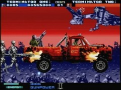 probe terminator 2 arcade game mega drive screenshot