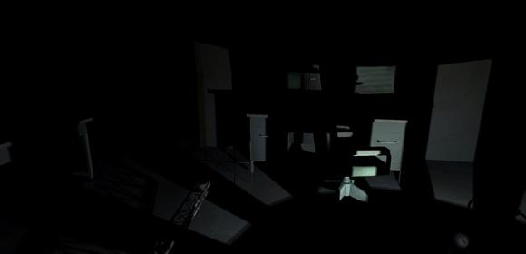 screenshot near death orthogonal games heater light