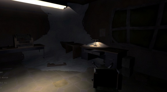 screenshot near death orthogonal games teletype