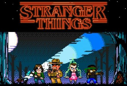 Teaser für die Stranger Things Game-Mockups