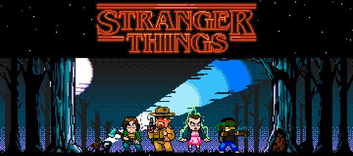 Teaser für die Stranger Things Game-Mockups
