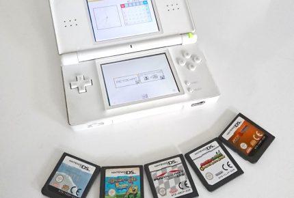 Neuzugang: Ausgedienter Nintendo DS Lite, Mario Kart und GBA-Ports