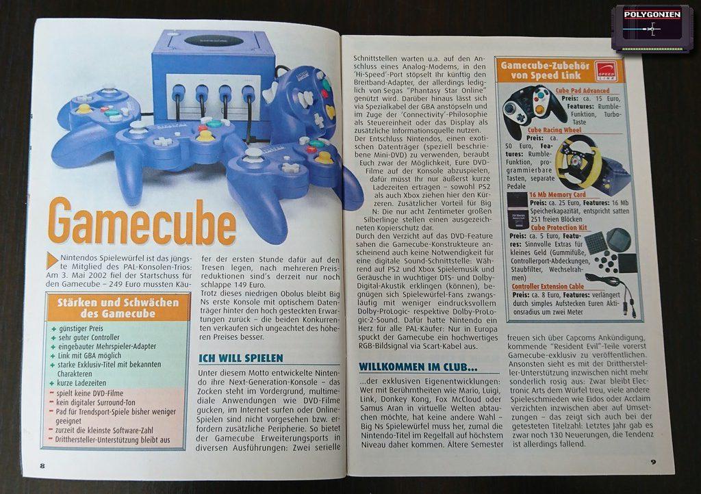 Foto Maniac Games Guide Gamecube Info