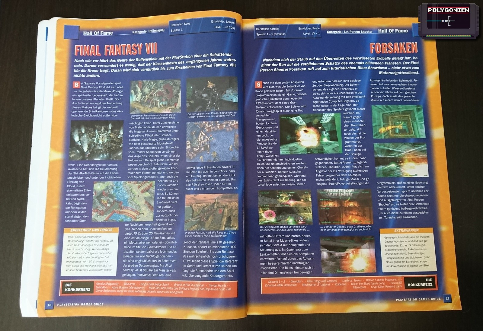 Foto PS Games Guide 99 Hall of Fame