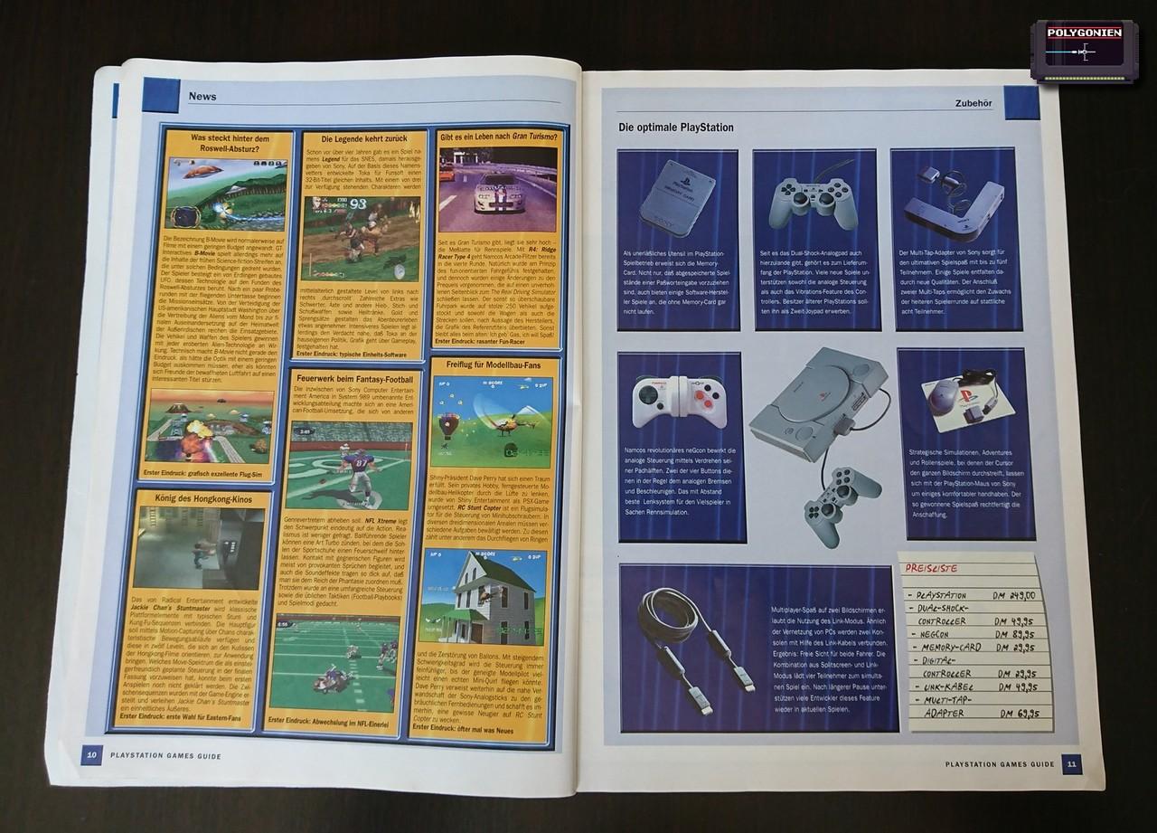 Foto PS Games Guide 99 News Zubehör