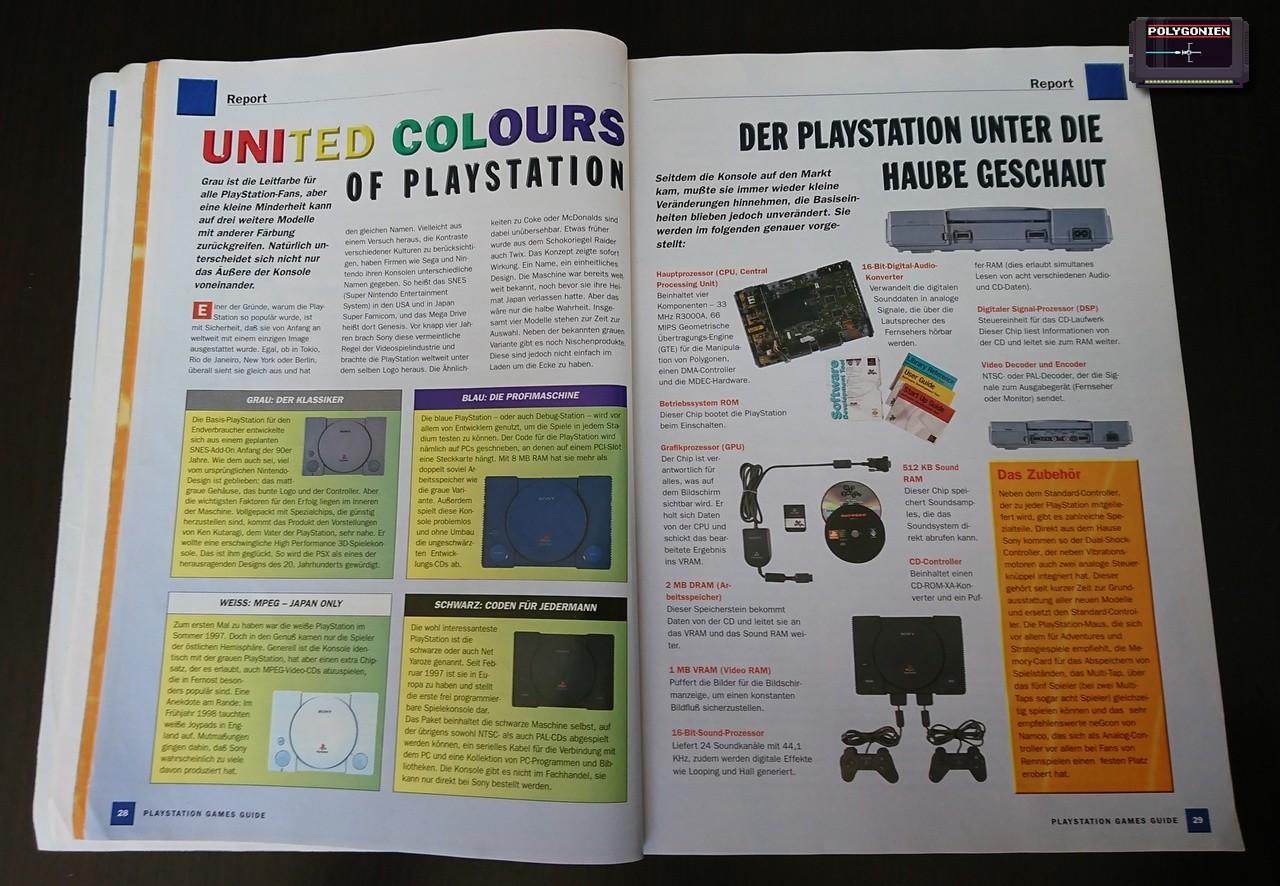 Foto PS Games Guide 99 Versionen
