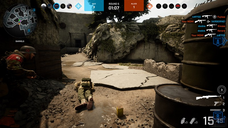 Screenshot Battalion 1944 Bulkhead Interactive Bomb