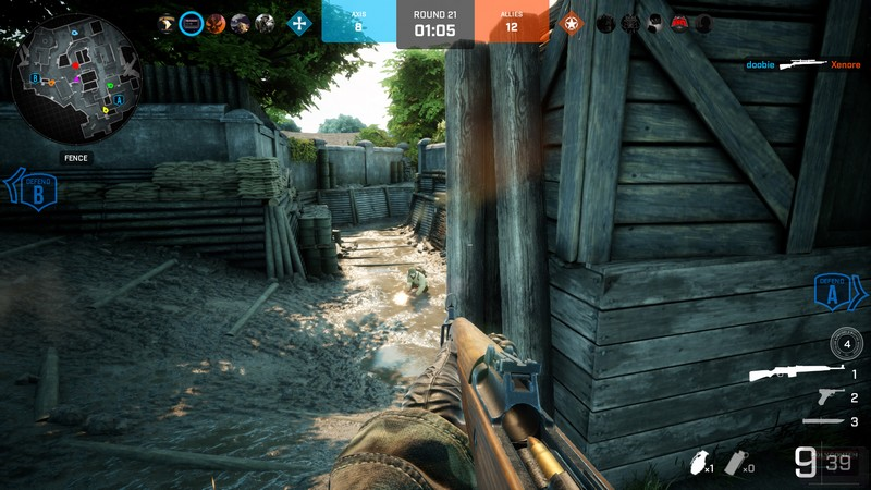 Screenshot Battalion 1944 Bulkhead Interactive Trenches