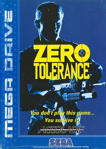 Cover des Mega Drive-Spiels Zero Tolerance